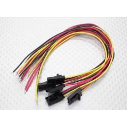 3 Pin male Molex Verbindungskabel_10365