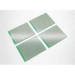 DIY PCB Bread Board 57x45mm (4Stk.)_11908