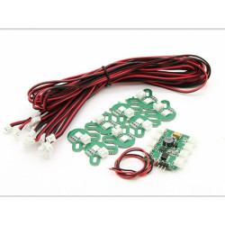 X-Cam Multirotor LED Navigationsset_12112