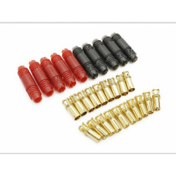 6mm Supra X Gold Bullet Steckerpaar (5 Paar)_12332