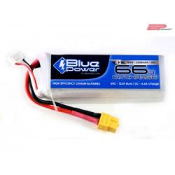 EP BluePower - 4S 14.8V 2200mAh 30C 66A (XT60)_12364