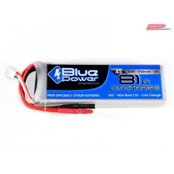 EP BluePower - 4S 14.8V 2700mAh 30C 81A (4mm)_12365