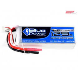 EP BluePower - 5S 18.5V 4300mAh 30C 129A (4mm)_12368
