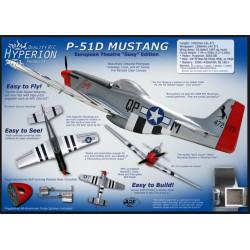 "Hyperion P-51D Mustang 1206mm ""Susy Edition""  flugfertig gebaut_15151"