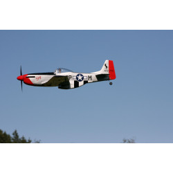 "Hyperion P-51D Mustang 1206mm ""Susy Edition""  flugfertig gebaut_15154"