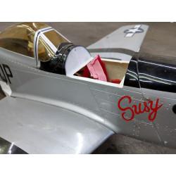 "Hyperion P-51D Mustang 1206mm ""Susy Edition""  flugfertig gebaut_15160"
