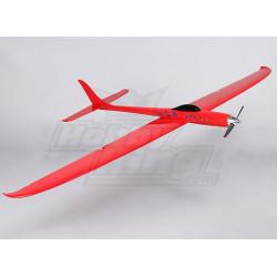 Dragon Red Electric RC Racing Glider - GFK Bausatz mit Antrieb & Servo_15192