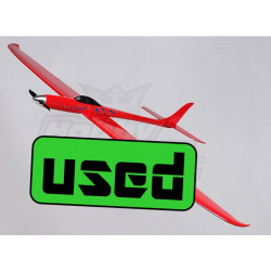 Dragon Red Electric RC Racing Glider - GFK Bausatz mit Antrieb & Servo_15195
