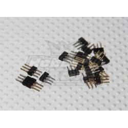 6 Pin Micro Stecker (10Stk.)_489